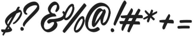 Radicals Regular otf (400) Font OTHER CHARS