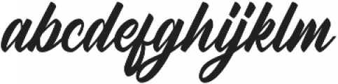 Radicals Regular otf (400) Font LOWERCASE