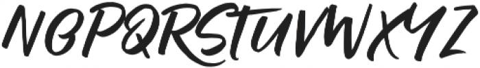 Raditya otf (400) Font UPPERCASE