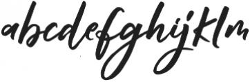 Raditya otf (400) Font LOWERCASE