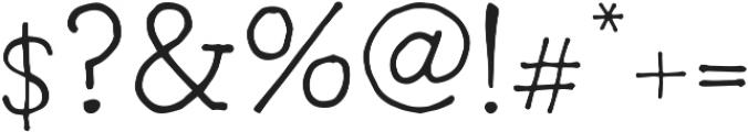 Radka ttf (400) Font OTHER CHARS