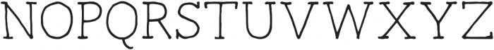 Radka ttf (400) Font UPPERCASE