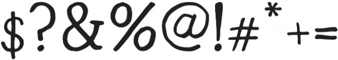 Radka ttf (500) Font OTHER CHARS