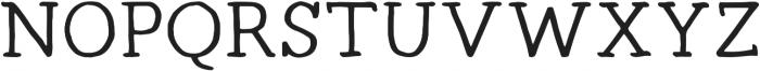 Radka ttf (500) Font UPPERCASE