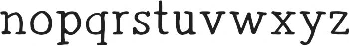 Radka ttf (500) Font LOWERCASE