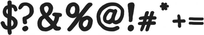 Radka ttf (700) Font OTHER CHARS