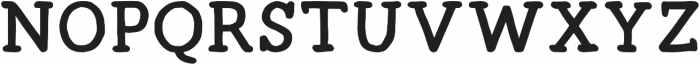 Radka ttf (700) Font UPPERCASE