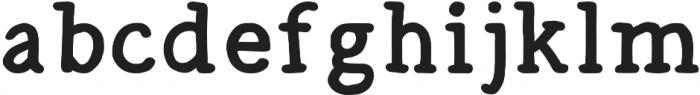 Radka ttf (700) Font LOWERCASE