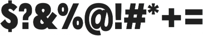 Radnika Black Condensed ttf (900) Font OTHER CHARS