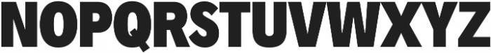 Radnika Black Condensed ttf (900) Font UPPERCASE