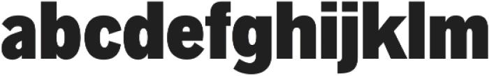 Radnika Black Condensed ttf (900) Font LOWERCASE