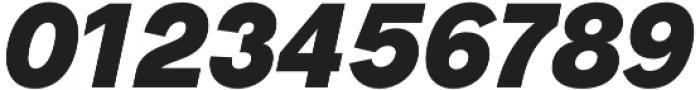 Radnika Black Italic otf (900) Font OTHER CHARS