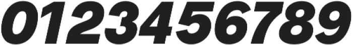 Radnika Black Italic ttf (900) Font OTHER CHARS