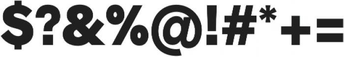 Radnika Black otf (900) Font OTHER CHARS