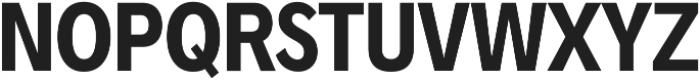 Radnika Bold Condensed ttf (700) Font UPPERCASE