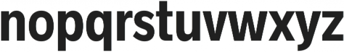 Radnika Bold Condensed ttf (700) Font LOWERCASE