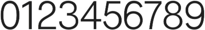 Radnika Light otf (300) Font OTHER CHARS