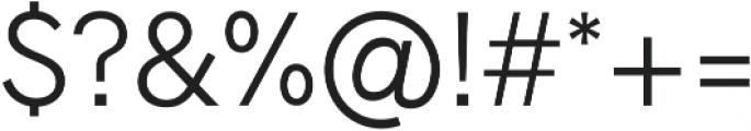 Radnika Light ttf (300) Font OTHER CHARS