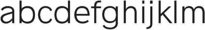 Radnika Light ttf (300) Font LOWERCASE