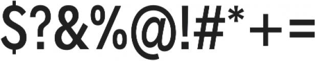 Radnika Medium Condensed ttf (500) Font OTHER CHARS