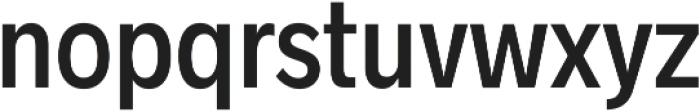 Radnika Medium Condensed ttf (500) Font LOWERCASE