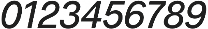 Radnika Medium Italic otf (500) Font OTHER CHARS