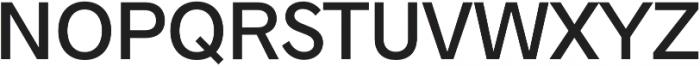 Radnika Medium otf (500) Font UPPERCASE