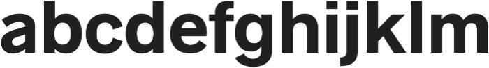 Radnika Next Regular Alt ttf (400) Font LOWERCASE