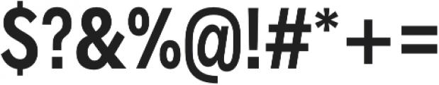 Radnika SemiBold Condensed otf (600) Font OTHER CHARS