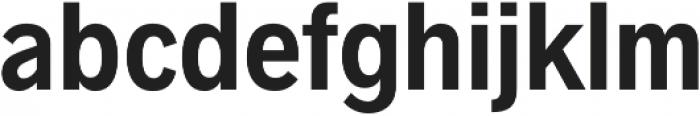 Radnika SemiBold Condensed otf (600) Font LOWERCASE
