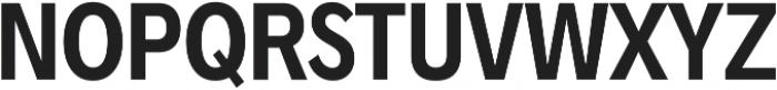 Radnika SemiBold Condensed ttf (600) Font UPPERCASE