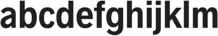 Radnika SemiBold Condensed ttf (600) Font LOWERCASE
