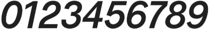 Radnika SemiBold Italic otf (600) Font OTHER CHARS