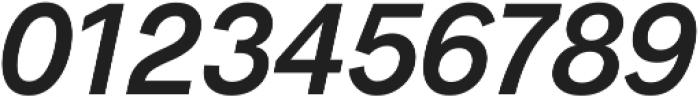 Radnika SemiBold Italic ttf (600) Font OTHER CHARS