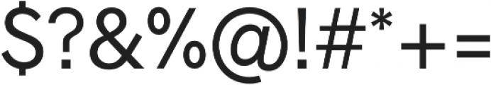 Radnika otf (400) Font OTHER CHARS