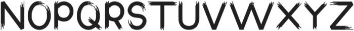 Radora Regular otf (400) Font UPPERCASE