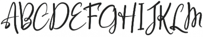Raelynn Regular otf (400) Font UPPERCASE