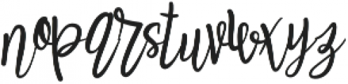 Raelynn Regular otf (400) Font LOWERCASE