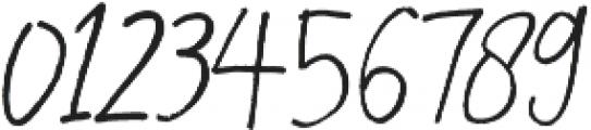 Rafailla otf (400) Font OTHER CHARS