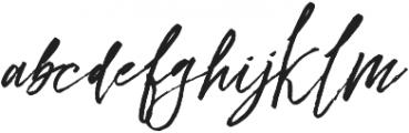 Rafailla otf (400) Font LOWERCASE