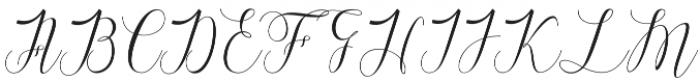 Raffiator Regular otf (400) Font UPPERCASE