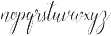 Raffiator Regular otf (400) Font LOWERCASE