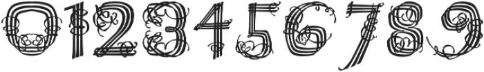 Raffish Regular otf (400) Font OTHER CHARS