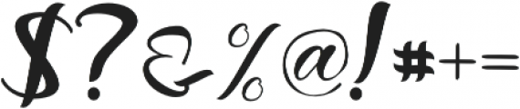 Raflesya otf (400) Font OTHER CHARS