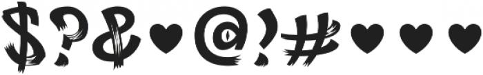 Rag FY otf (400) Font OTHER CHARS