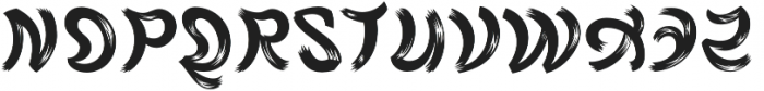 Rag FY otf (400) Font UPPERCASE