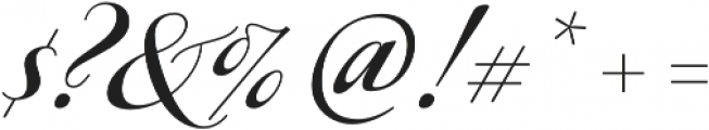 Ragazza Script otf (400) Font OTHER CHARS