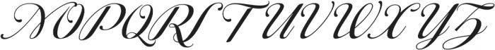 Ragazza Script otf (400) Font UPPERCASE