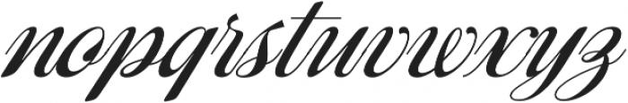 Ragazza Script otf (400) Font LOWERCASE