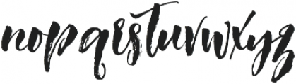 Ragtime otf (400) Font LOWERCASE